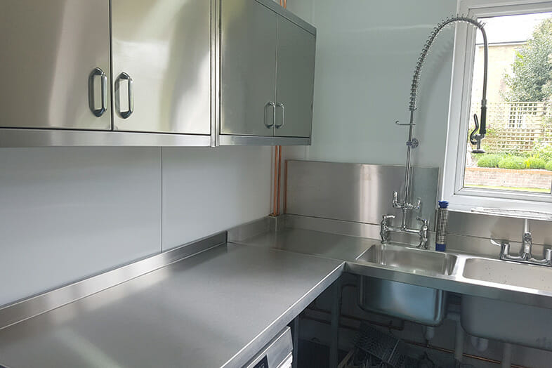 Andrew White Commercial Kitchen design - Abbeyfield 2