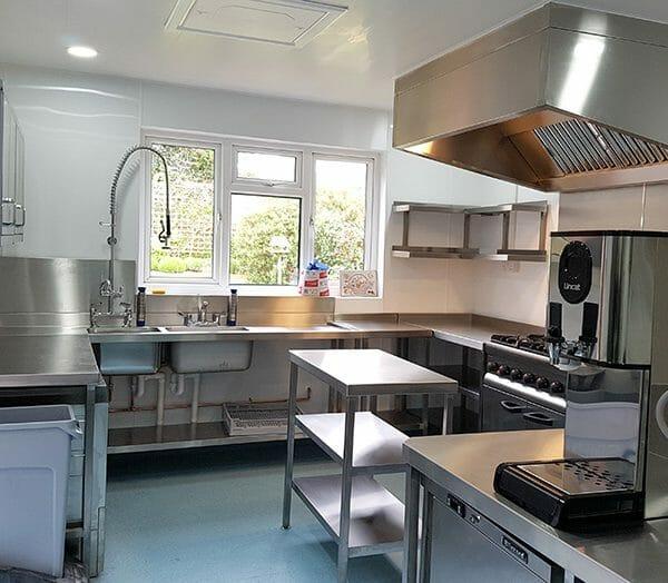 Andrew White Commercial Kitchen design - Abbeyfield