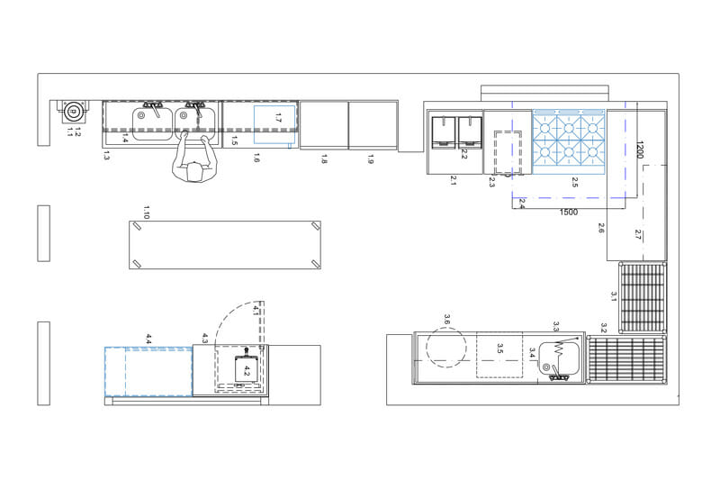 Andrew White Commercial Kitchen Services Cad Design