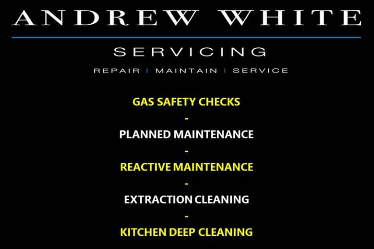Andrew White Commercial Kitchen services - Breakdown, Repair, Maintenance and Servicing